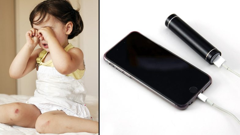 Parents Beware! Two-Year-Old Girl in UP Gets Electrocuted After Putting Mobile Charger in Mouth