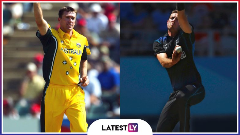 Best Bowling Figures at ICC Cricket World Cup: From Glenn McGrath to Tim Southee Here Is the List of Top Individual Bowling Performances Ahead of CWC 2019