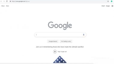 Memorial Day 2019: Google Doodle Marks The US National Holiday With 'Taps' Bugle Call And Folded American Flag