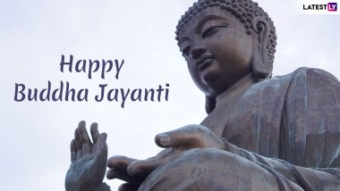 Buddha Purnima Images & Vesak Day HD Wallpapers for Free Download Online: Wish Buddha Jayanti 2019 With GIF Greetings & WhatsApp Sticker Messages