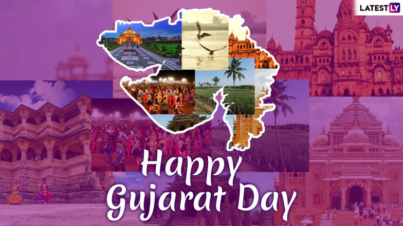 Happy Gujarat Day 2019 Greetings: WhatsApp Messages, Quotes, GIF Images, SMS To Wish Happy Gujarat Day