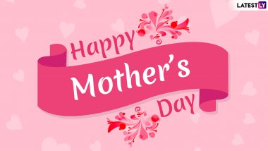 Happy Mother's Day HD Images, Quotes and Wallpapers for Free Download Online: Send Mother's Day 2019 Wishes With GIF Greetings & WhatsApp Sticker Messages