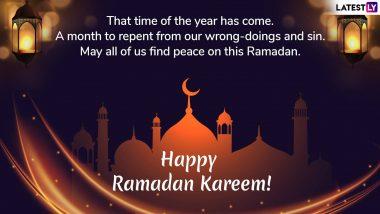 Ramzan Mubarak 2019 Greetings in Advance: WhatsApp Messages, SMS, Quotes to Wish Ramadan Kareem