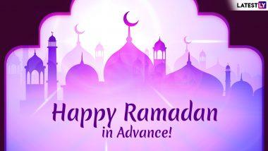 Ramzan Mubarak 2019 Wishes in Advance: WhatsApp Stickers, GIF Image Messages, SMS and Greetings to Wish Ramadan Kareem