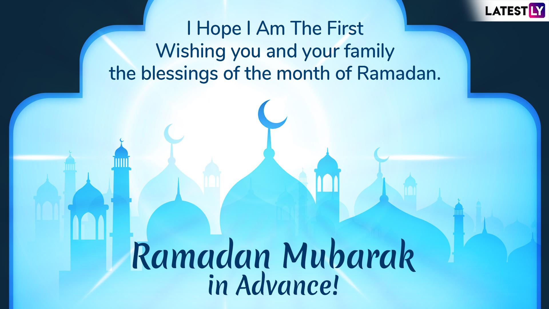 Ramzan Mubarak 2019 Wishes in Advance: WhatsApp Stickers, GIF ...