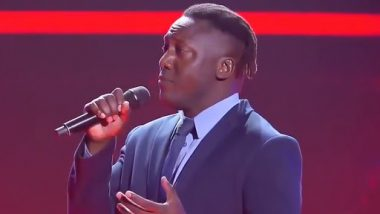 Remember Henry Olonga? Former Zimbabwean World Cup Cricketer Has Turned Amazing Singer; Watch Video of His Performance in the Voice Australia