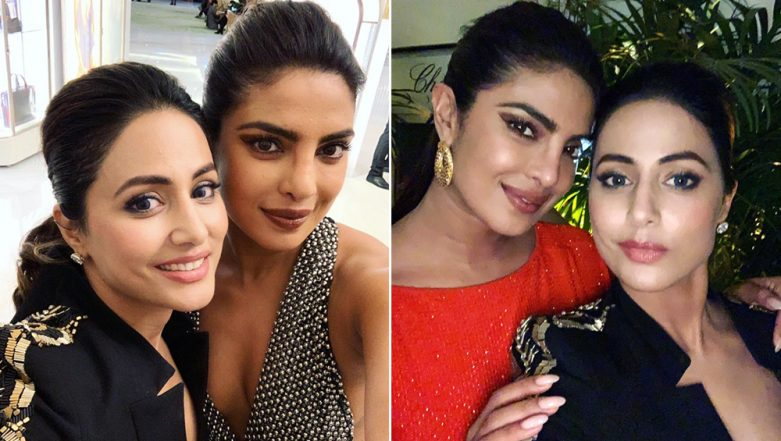 Hina Khan Has a Heartfelt Message for Priyanka Chopra About Her Experience at Cannes 2019; Here's What the Actress Has to Say (View Pics)