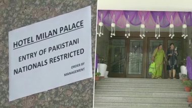 Uttar Pradesh: Hotel Milan Palace in Prayagraj Restricts Entry of Pakistani Nationals to Protest Against Pulwama Terror Attack