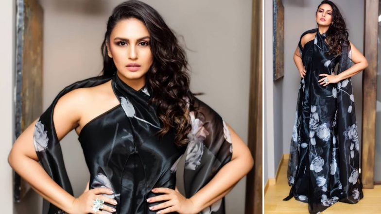 Cannes 2019: Huma Qureshi Is Making a Solid Fashion Statement in Ralph Lauren's Sexy Black Dress – View Pics
