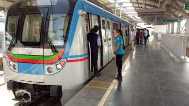 IPL 2019 Final: Hyderabad Metro Extends Running Time to 1 AM to Facilitate Fans