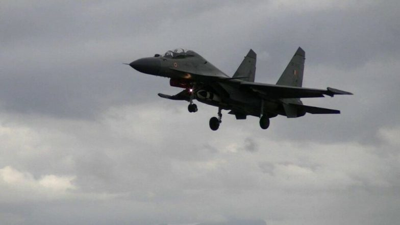 BrahMos Supersonic Cruise Missile Air Version Successfully Launched From Sukhoi Su-30MKI Fighter Jet: IAF
