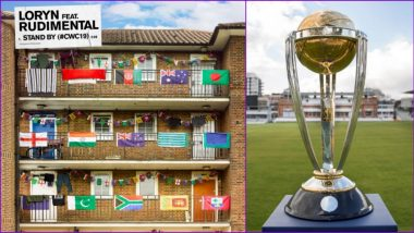 ICC Cricket World Cup 2019 Anthem 'Stand By' Is Out! Watch Video of #CWC19 Official Song by Loryn & Rudimental