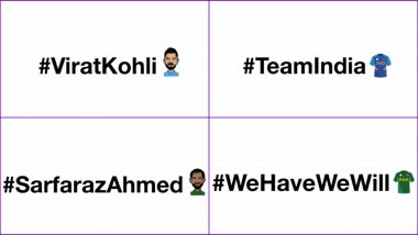 ICC Cricket World Cup 2019 Special Emojis and Slogan Hashtags For 10 Teams and Their Captains Are Such a Delight on Twitter (Watch Video)