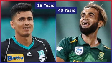 Team-Wise List of Oldest and Youngest Players in ICC Cricket World Cup 2019
