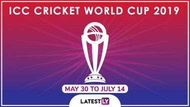 ICC Cricket World Cup 2019 Schedule in IST, Free PDF Download: Full Timetable of CWC19 Fixtures With Match Timings and Venue Details