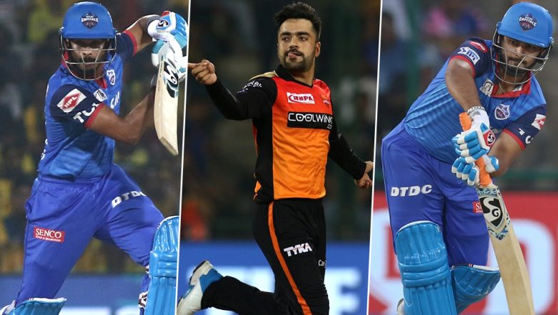 DC vs SRH, IPL 2019 Eliminator, Key Players: Shreyas Iyer, Rashid Khan, Rishabh Pant And Other Cricketers to Watch Out for at VDCA Cricket Stadium in Visakhapatnam