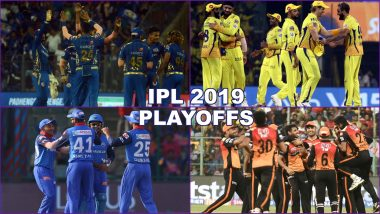 IPL 2019 Playoffs Time Table and Updated Points Table: Check Complete Schedule and Fixtures of Knockout Stage of Indian Premier League 12