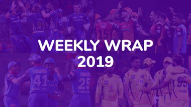 IPL 2019 Week 6 Highlights: CSK Maintain 100% Qualification and Other Exciting News This Week