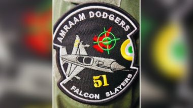 Wing Commander Abhinandan Varthaman's Squadron Gets New Patch 'Falcon Slayers' For Shooting Down Pakistan's F-16 Fighter Jet