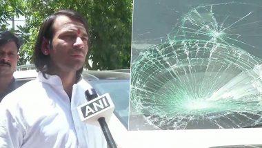 Lalu Prasad's Son Tej Pratap Defends His Bodyguards After Attack On Cameraman
