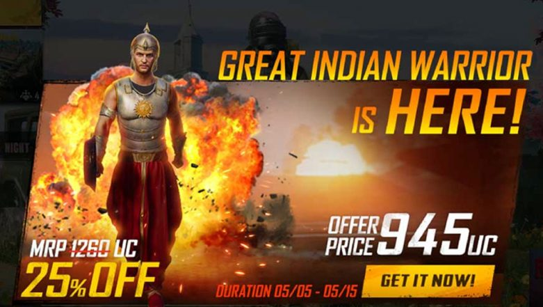 PUBG Mobile Game Brings Baahubali Inspired 'The Great Indian Warrior' Outfit; Can Be Purchased With Discounts Till May 15