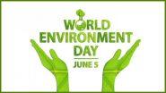 World Environment Day 2020 Greetings: PM Narendra Modi, Congress Leader Rahul Gandhi, MNS Chief Raj Thackeray Extend Their Wishes on Vishwa Paryavaran Diwas