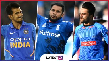Yuzvendra Chahal, Adil Rashid, Rashid Khan and Other Leg Spinners to Watch Out for at ICC Cricket World Cup 2019