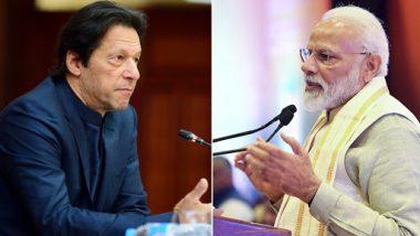 Imran Khan Dials PM Narendra Modi, Congratulates Him on Landslide Win in Lok Sabha Elections 2019