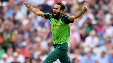 Imran Tahir to Retire From ODIs After South Africa vs Australia CWC19 Clash