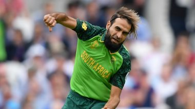 ICC Cricket World Cup 2019: Faf du Plessis Praises Imran Tahir, Says 'He Single-Handedly Made Us Strong'
