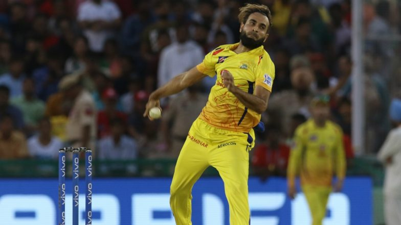 Imran Tahir is IPL 2019 Purple Cap Holder for Taking Most Wickets in This Season: Chennai Super Kings' Bowler Becomes Highest Wicket-Taker in IPL 12