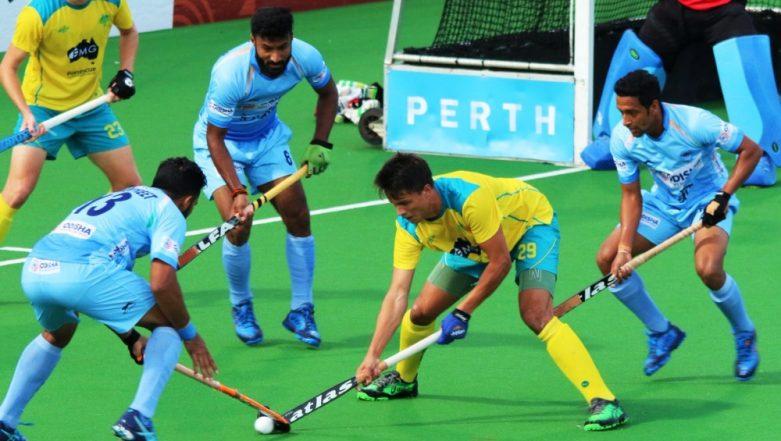 India vs Australia Hockey Test Series 2019: Hosts Thrash Team India 4–0 in First Match