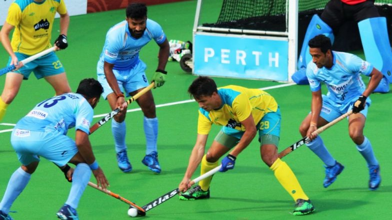 India vs Australia Hockey Test Series 2019: Hosts Thrash Team India 4–0 in First Match