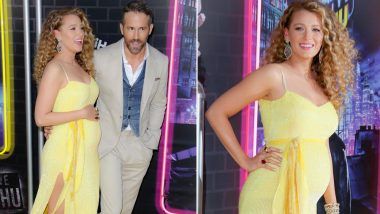 Gossip Girl Fame Blake Lively Flaunts Her Baby Bump at the Screening of Husband Ryan Reynold's Pokemon Detective Pikachu