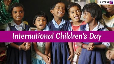 International Children's Day Date: History and Significance of the Day That Celebrates Children and Highlights Their Issues