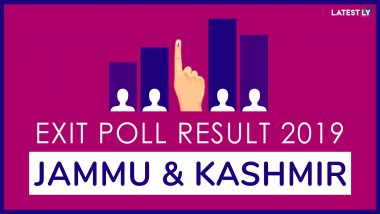Exit Poll Results of Lok Sabha Elections 2019 for All Constituencies of Jammu and Kashmir