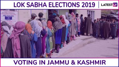 Jammu And Kashmir Lok Sabha Elections 2019: Phase 5 Voting Ends For Anantnag And Ladakh Parliamentary Constituencies; 17.07% Voter Turnout Recorded