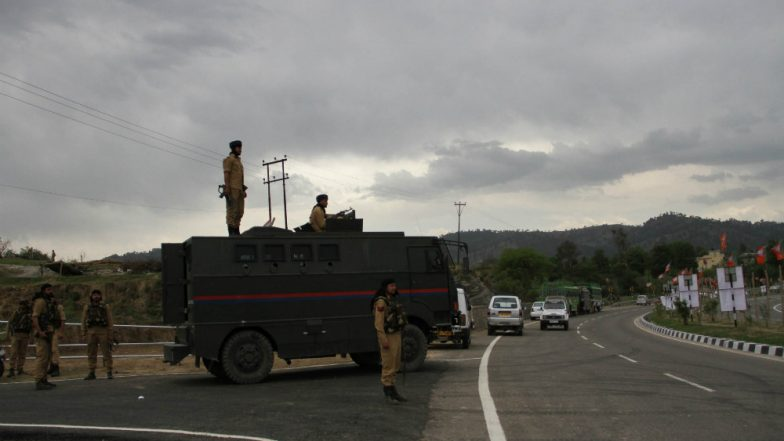 Jammu & Kashmir: Militants Attack Security Convoy in Anantnag, 5 CRPF Jawans Martyred