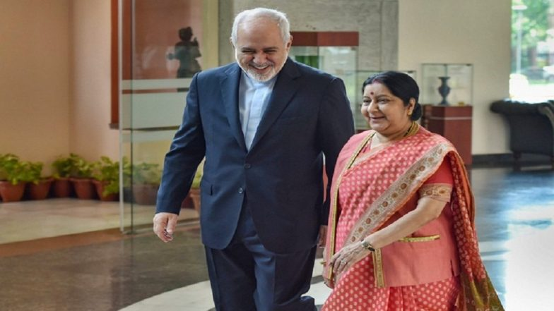India to Decide on Oil Imports From Iran After Lok Sabha Elections 2019: Sushma Swaraj Conveys to Javad Zarif