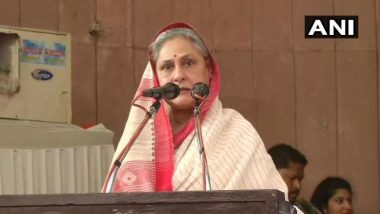 Lok Sabha Elections 2019:Jaya Bachchan Campaigns For Poonam Sinha in Lucknow, Blames Ruling BJP of Creating Chaos in India