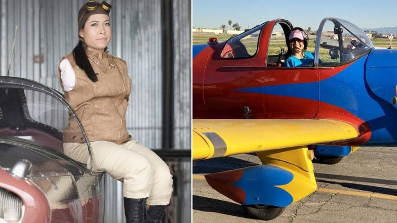 US Woman Jessica Cox Born Without Arms Becomes First Licensed Pilot to Fly Plane With Feet!