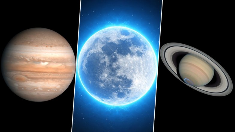 Jupiter and Saturn to Appear Along With the Moon This Week, Know Date and Timings
