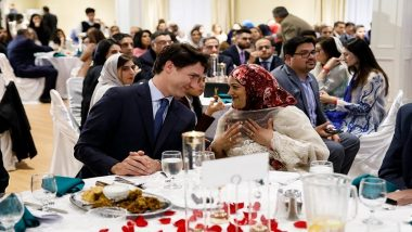 Ramadan 2019: Justin Trudeau Attends Iftar Hosted by Milton Muslims, View Pictures