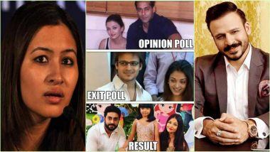 Vivek Oberoi Shares Meme on Exit Poll 2019 Featuring Aishwarya Rai Bachchan, Jwala Gutta Calls it Absurd