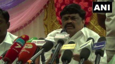 'Kamal Haasan's Tongue Should Be Cut Off for Hindu Terror Remark', Says AIADMK Leader KT Rajendra Balaji