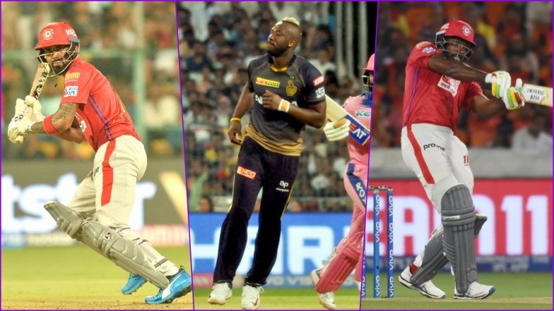 KXIP vs KKR, IPL 2019 Match 52, Key Players: KL Rahul, Andre Russell, Chris Gayle And Other Cricketers to Watch Out for at PCA Stadium