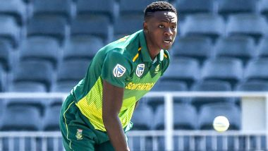 Kagiso Rabada Excited as South African Players Land in New Delhi for T20I Series Against India