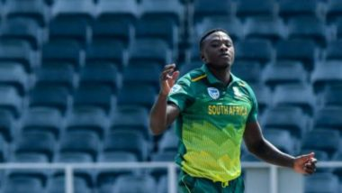 South Africa vs England 2020: Team Decision to Not Take the Knee, Says Kagiso Rabada