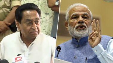 Kamal Nath Lambastes PM Narendra Modi In Ratlam, Says 'During Indira Gandhi and Pandit Jawaharlal Nehru's Tenure, Modi Didn't Know How to Wear Pant and Pyjamas'