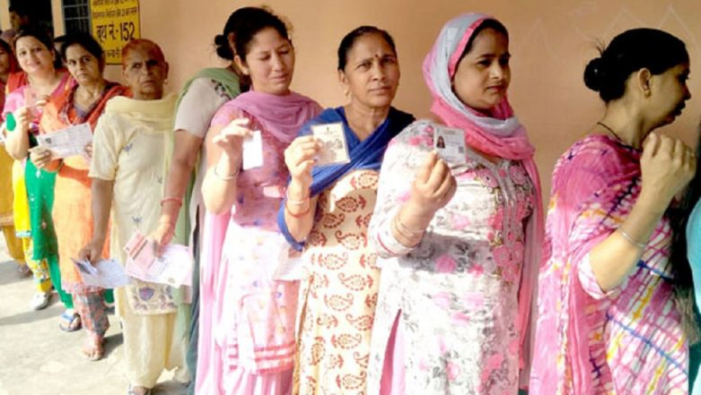 Lok Sabha Elections 2019 Phase 6 Polling: 51.48 Per Cent Voting Recorded in Haryana Till 3 PM